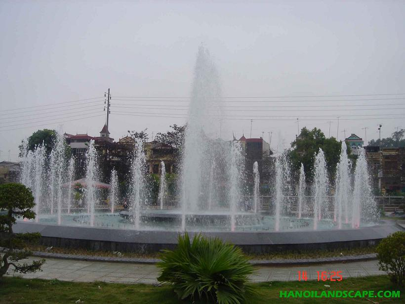 Đài phun nước Sân vận động TP Việt Trì