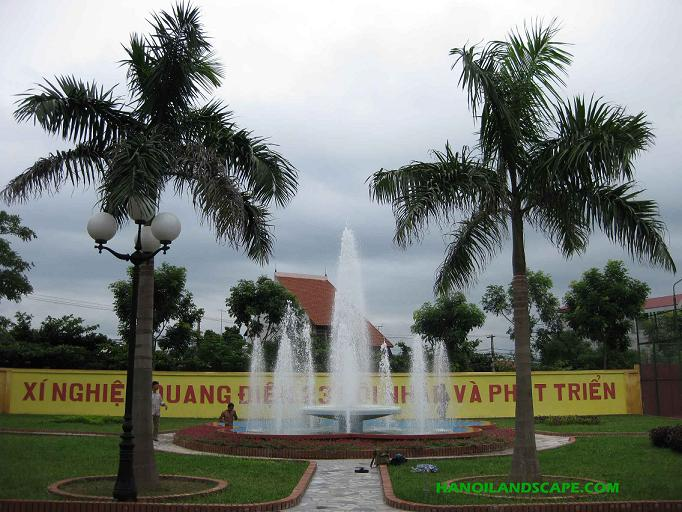 Đài phun nước - Nhà máy Z199 Vĩnh Phúc