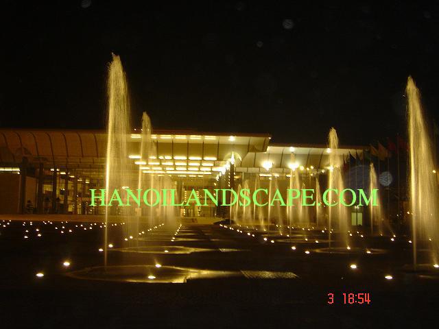 Đài phun nước Trung tâm hội nghị quốc gia NCC